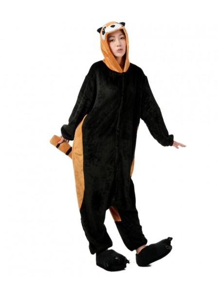 Roter Panda Kigurumi Onesie Pyjamas Weich Flannel Unisex Tier Kostüme Für Damen & Herren