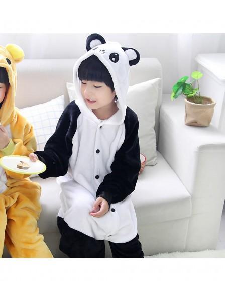 Panda Onesie Kigurumi Pyjamas Kids Tier Kostüme Für Jugend