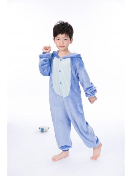 Stitch Onesie Kigurumi Pyjamas Kids Tier Kostüme Für Jugend