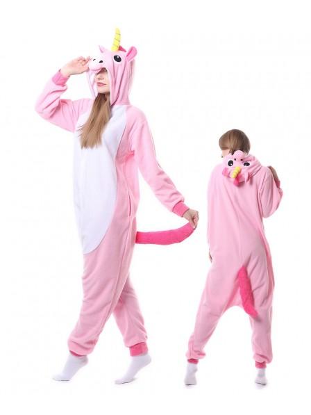Rosa Einhorn Kigurumi Onesie Pyjamas Tier Unisex