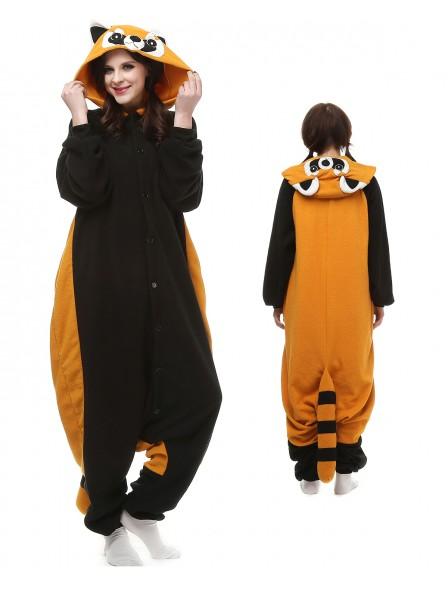 Roter Panda Kigurumi Onesie Pyjamas Polar Fleece Tier Unisex Kostüme Für Erwachsene