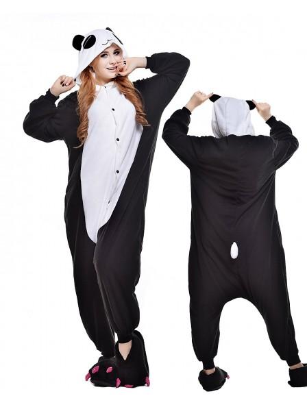 Panda Kigurumi Onesie Pyjamas Polar Fleece Tier Unisex Kostüme Für Erwachsene