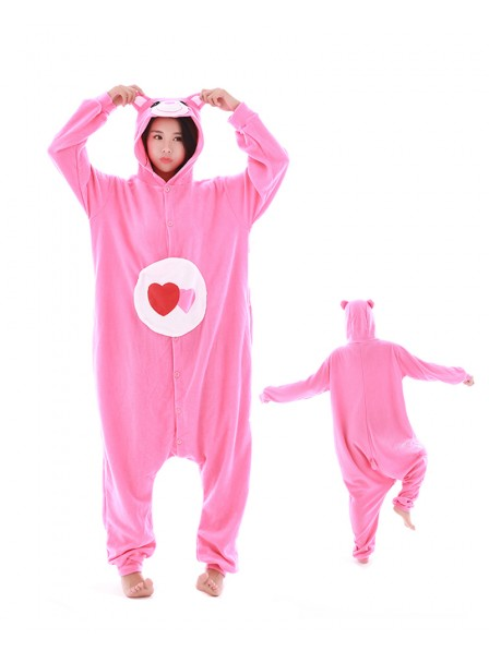 Love Bear Kigurumi Onesie Pyjamas Polar Fleece Tier Unisex Kostüme Für Erwachsene