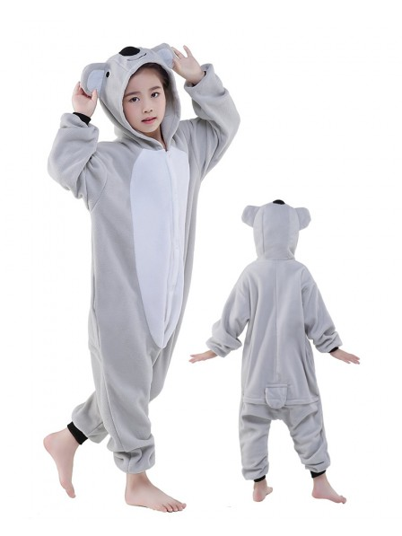 Koala Onesie Kids Kigurumi Polar Fleece Tier Kostüme Für Jugend