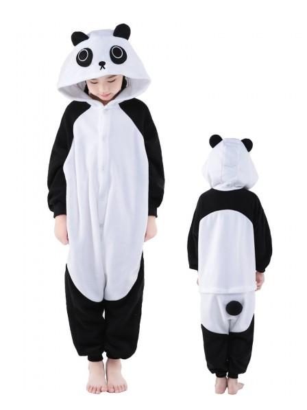 Panda Onesie Kids Kigurumi Polar Fleece Tier Kostüme Für Jugend