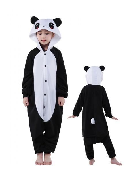 Pandas Onesie Kids Kigurumi Polar Fleece Tier Kostüme Für Jugend